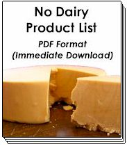 2010 No Dairy Product Lists