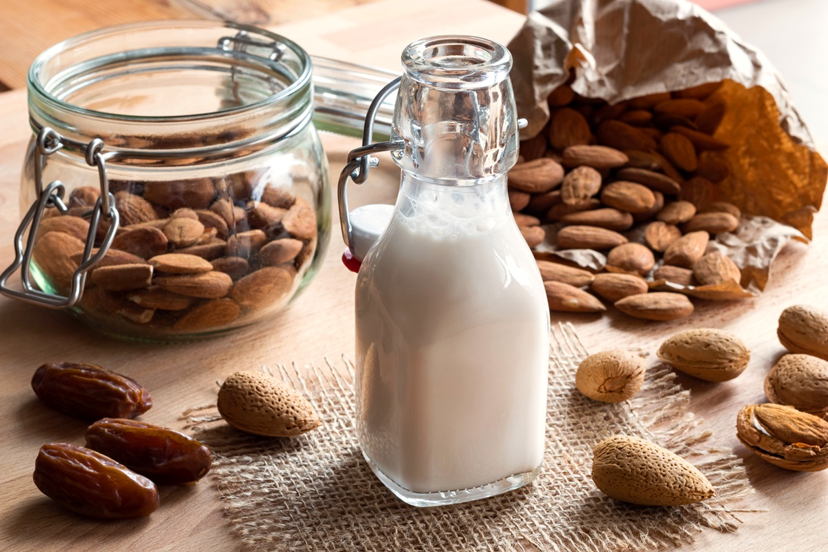 Image result for milk and almond