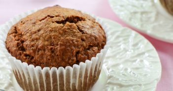 Vegan Bran Muffins Recipe with Orange, Dates, and Pecans