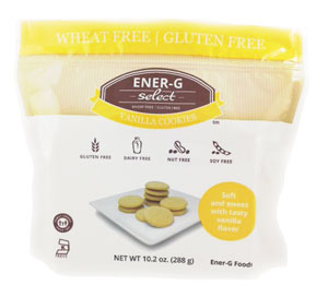 Ener-G Cookies Review - gluten-free, dairy-free, nut-free and generally food allergy friendly (select flavors are vegan)