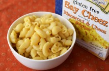 Namaste Pasta Dinners - gluten-free, dairy-free, top allergen-free boxed meals (Say Cheez Non-Dairy Mac & Cheez pictured)