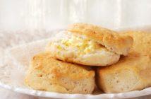 Vegan Lemon Biscuits Recipe with optional lemon buttery spread - dairy-free, nut-free, vegan