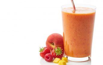 Orange Lotus Smoothie Recipe - A sweet dairy-free, vegan blend for bone health