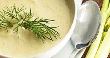 Heart-Healthy Celery Soup Recipe - creamy, dairy-free, and vegan