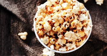 Old-Fashioned Homemade Kettle Corn Recipe - A naturally dairy-free, gluten-free, vegan and allergy-friendly treat