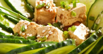 Vegan Sesame-Ginger Tofu Recipe - marinated and enjoyed fresh or baked