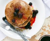 Fluffy Whole Wheat Pancakes: Dairy-free, Nut-free & High-protein
