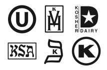Understanding Kosher Labels - Helpful for Dairy-Free Living!