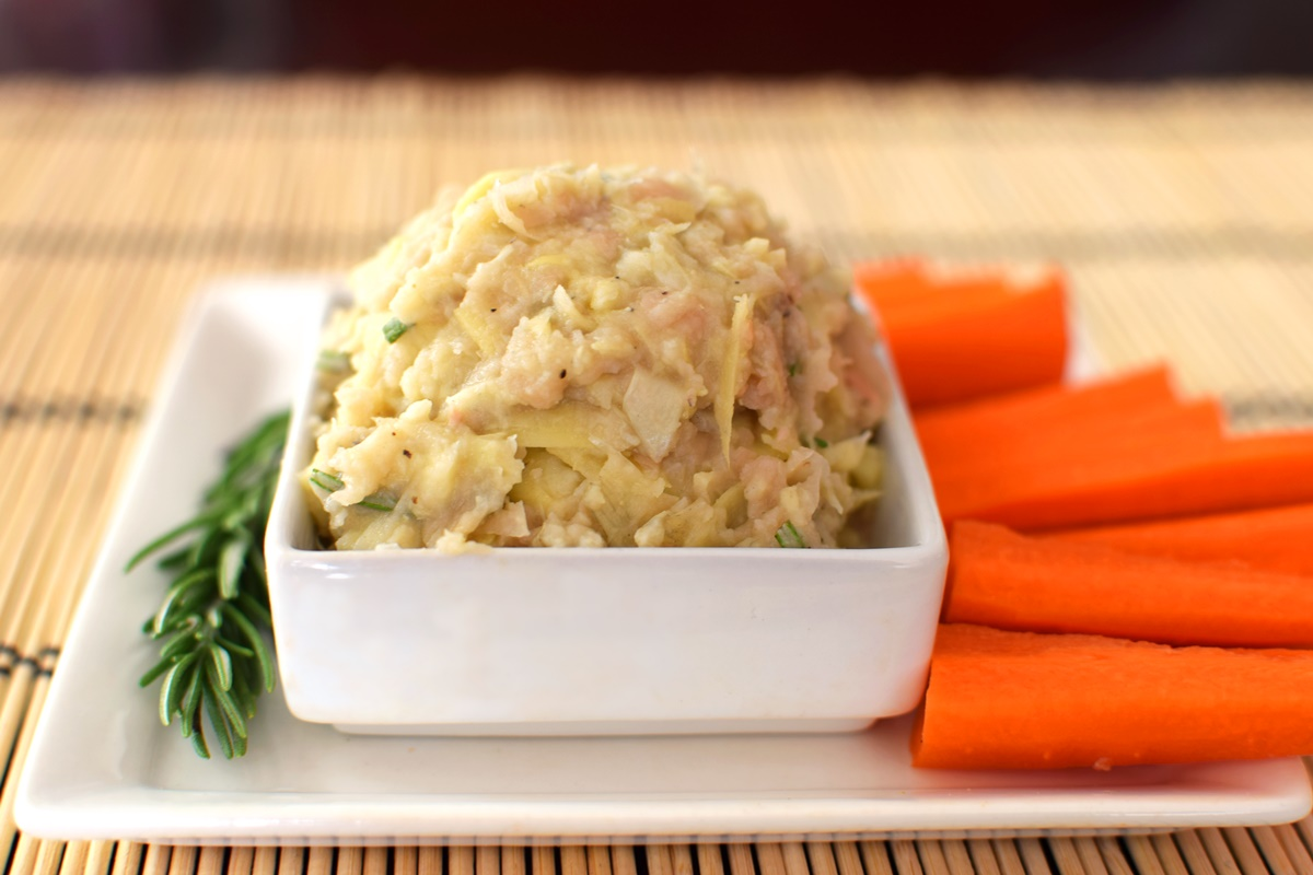 White Bean Artichoke Dip Recipe (vegan, dairy-free, allergy-friendly and healthy!)