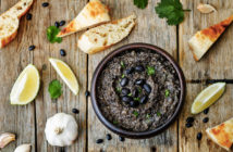 Black Bean Hummus - a perfect dairy-free, gluten-free, and vegan party dip!