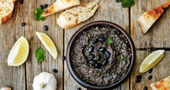 Black Bean Hummus - a perfect dairy-free, gluten-free, and vegan party dip!