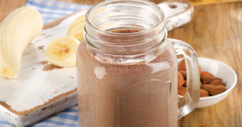 Chocolate Lover's Smoothie - a Healthy Chocolate Shake (dairy-free, gluten-free, and vegan)
