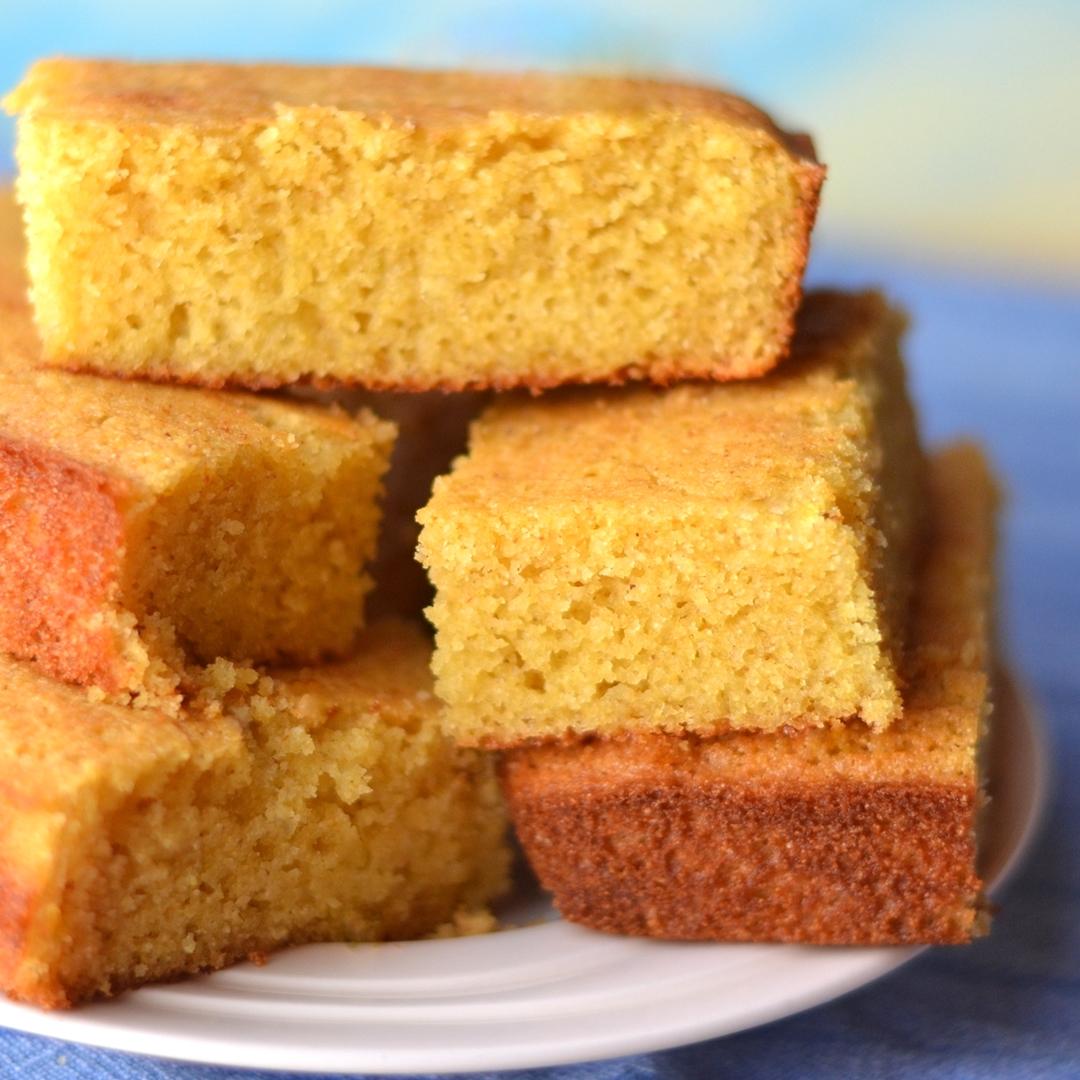 Golden Dairy-Free Cornbread Recipe (Lightly Sweet Version)
