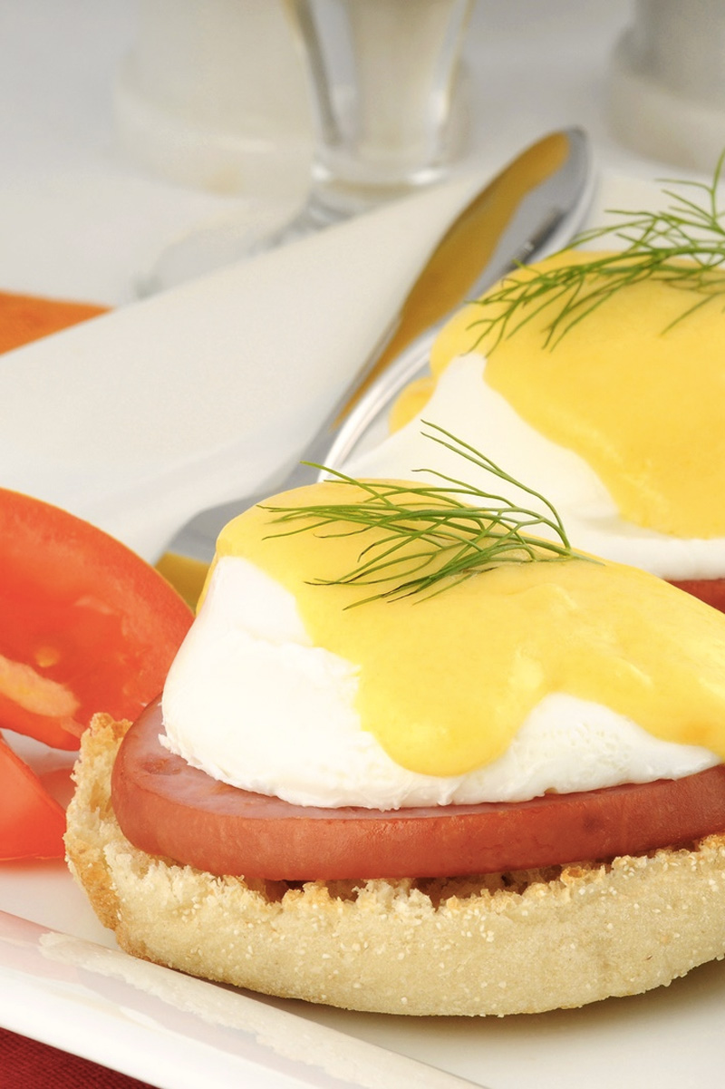 Eggs Benedict Recipe - dairy-free, soy-free, and vegetarian option,