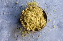 Basic Dairy-Free Parmesan Recipe (Just 5 minutes, 3 ingredients, vegan, gluten-free and soy-free!)