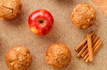 Healthy Apple Spice Muffins Recipe with Whole Grains and Maple Syrup (Dairy-Free with Nut-Free Option