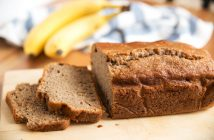 Dairy-Free Banana Wheat Bread Recipe - healthy, hearty, and flavorful!