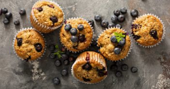 Whole Grain Blueberry Orange Muffins Recipe (Dairy-Free, Nut-Free)