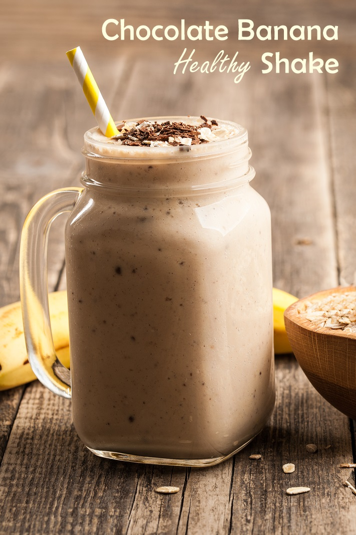 Thick & Creamy Chocolate Banana Shake Recipe - vegan, paleo, and allergy-friendly