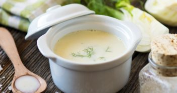 Creamy Fennel Soup Recipe - plant-based, paleo, and food allergy-friendly! Served chilled.