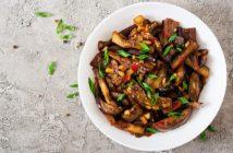 Eggplant in Garlic Sauce Recipe (Chinese-Style) - Plant-Based, Dairy-Free, Vegan, Gluten-Free Optional