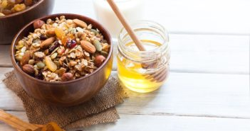 Healthy Honey-Sweetened Granola Recipe (Dairy-Free & Oil-Free) - with gluten-free, nut-free and vegan options