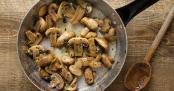 Garlic Mushroom Saute Recipe (easy side for any meal - dairy-free, gluten-free, allergy-friendly, vegan)