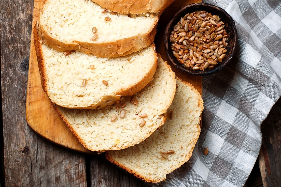 Flax and Sunflower Seed Bread Recipe for Bread Machines (dairy-free and vegan optional)