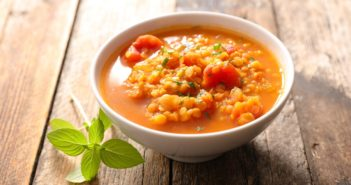 Tomato Lentil Soup Recipe - plant-based, vegan, gluten-free, dairy-free, flavorful, and fulfilling