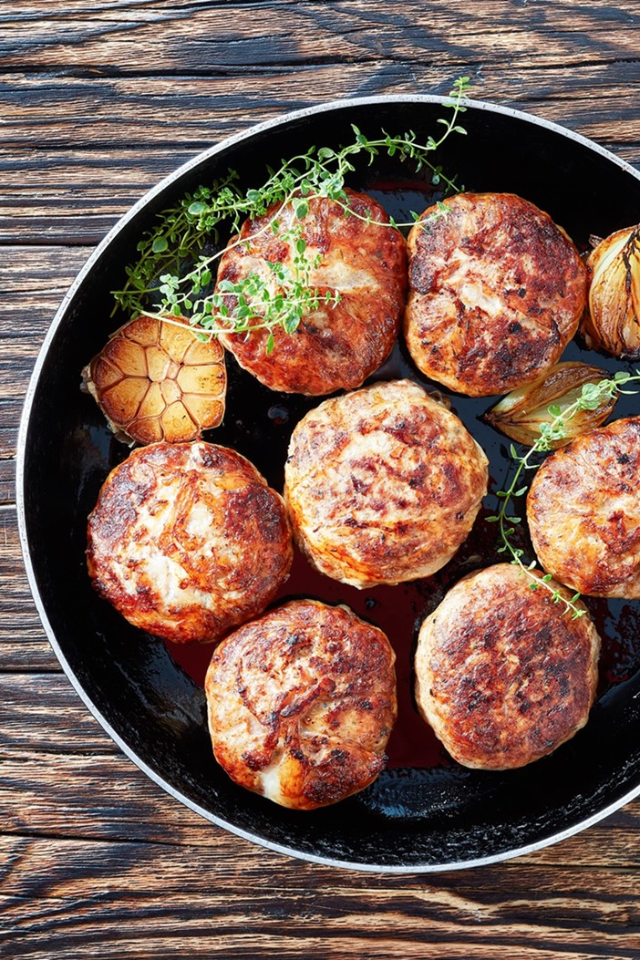 Turkey Breakfast Sausage Patties Recipe - lean, healthy, easy, dairy-free, allergy-friendly, and optionally gluten-free