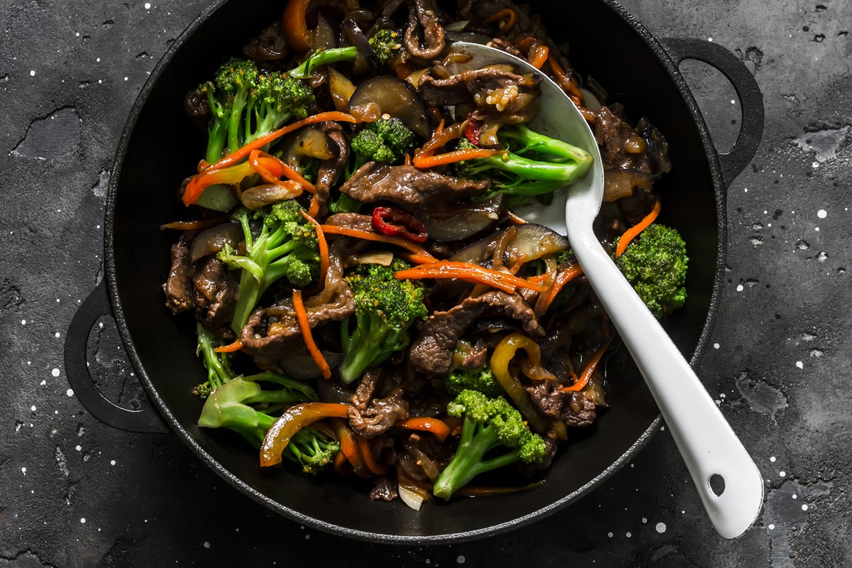 Restaurant-Style Beef & Broccoli Stir Fry Recipe without Dairy, Gluten, Nuts, or Soy