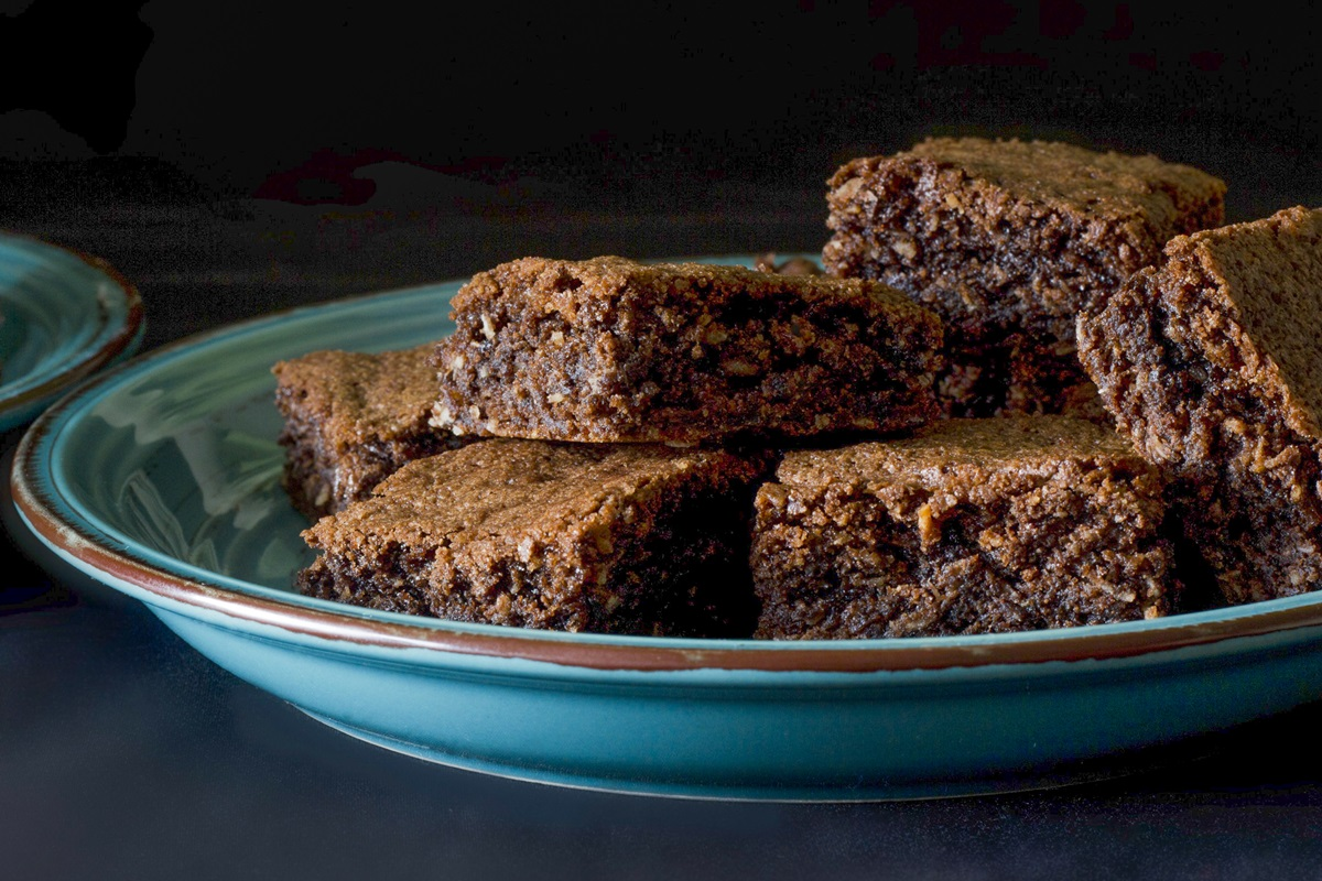Dairy-Free Coconut Brownies Recipe - rich and fudgy with a gluten-free option.