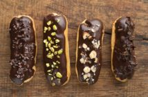 Dairy-Free, Gluten-Free Eclairs Recipe! A decadent treat that's also free of nuts and soy.