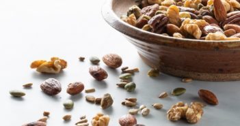 Honey 'n Spice Toasted Trail Mix Recipe - naturally dairy-free, gluten-free, soy-free, and paleo snack, with vegan, honey-free option.