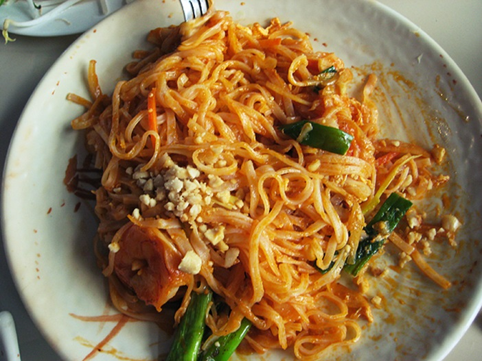 Easy Pad Thai Recipe - an Americanized version that's a house favorite. Dairy-free, gluten-free and soy-free.