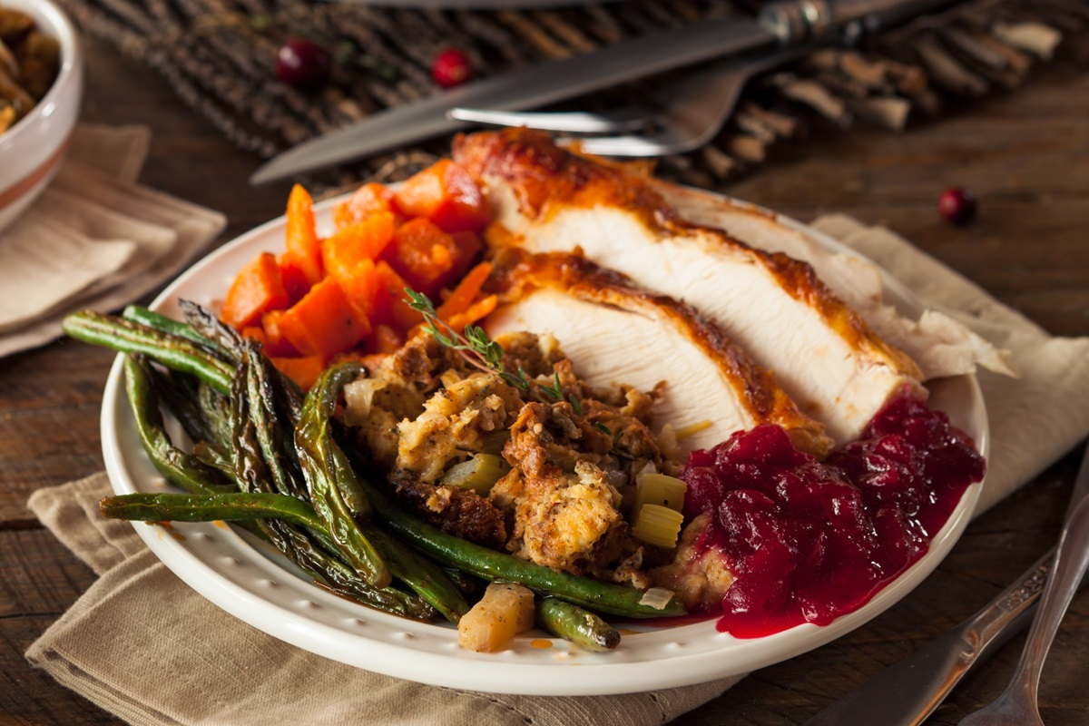 Dairy-Free Turkey with Rye Stuffing Recipe for the holidays