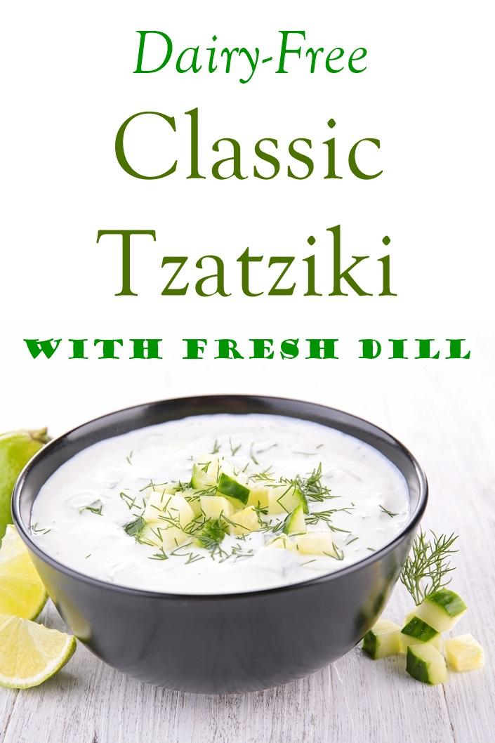 Classic Dairy-Free Tzatziki with Dill