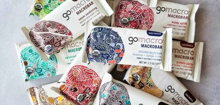 GoMacro MacroBars: Clean Snacks in More Than a Dozen Flavors