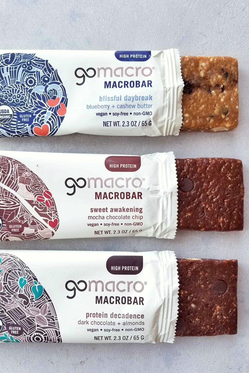 GoMacro MacroBars (Review) - all certified vegan, organic, kosher pareve, gluten-free, CLEAN, and RAW!