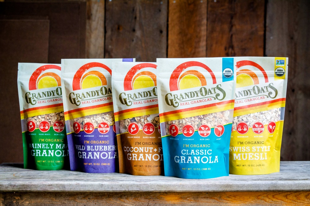 GrandyOats Granola: A Big Handmade, Organic Selection (all dairy-free)