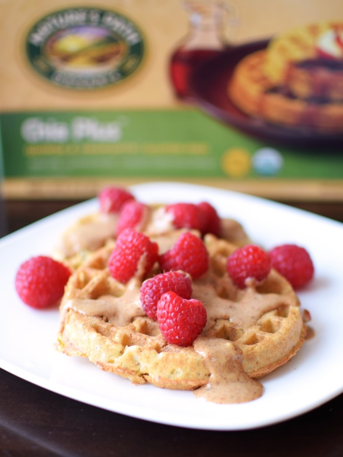 Nature's Path Gluten-Free Frozen Waffles: Dary-free, Organic, and Vegan, too (Chia Plus pictured)