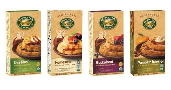 Nature's Path Gluten-Free Frozen Waffles (Dairy-Free and Organic)