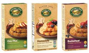 Nature's Path Gluten-Free Frozen Waffles (Dairy-Free and Organic)