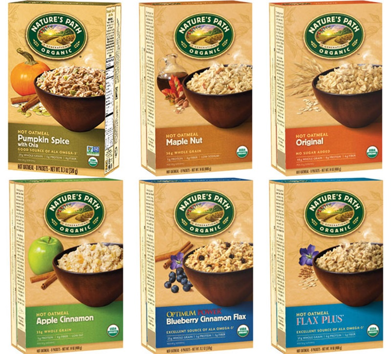 Nature's Path Hot Oatmeal (Review) - organic, dairy-free and vegan
