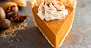 Perfect Pumpkin Pie Recipe with Pecan Crust - A dairy-free twist on this classic pie.