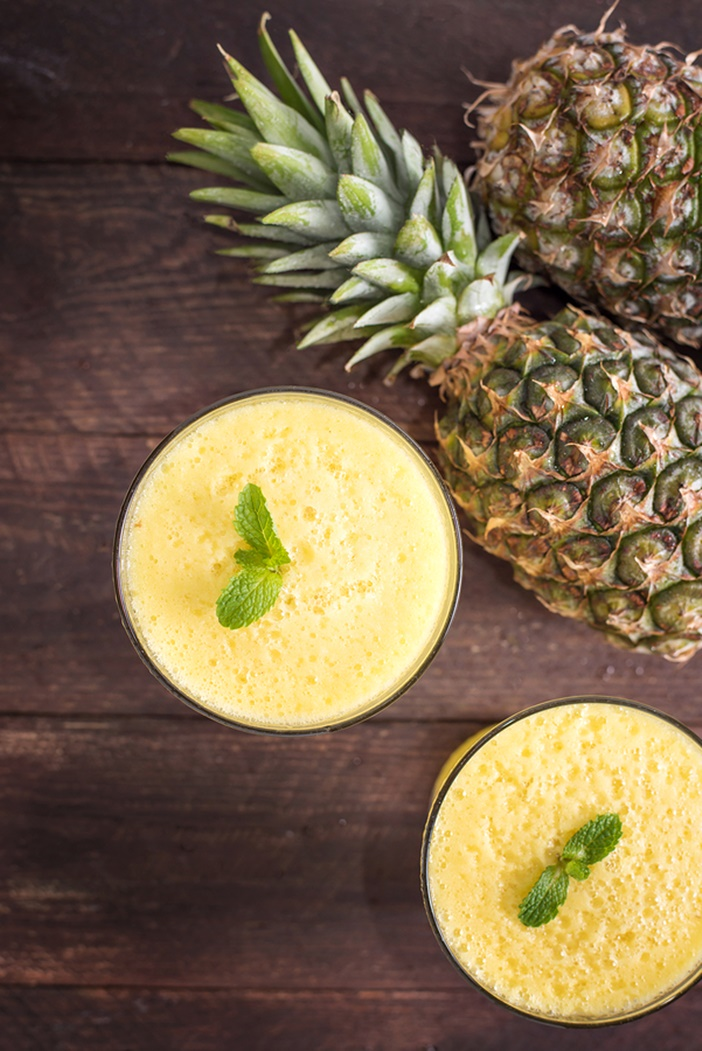 Virgin Pina Colada Smoothie Recipe (dairy-free, vegan, optionally paleo)