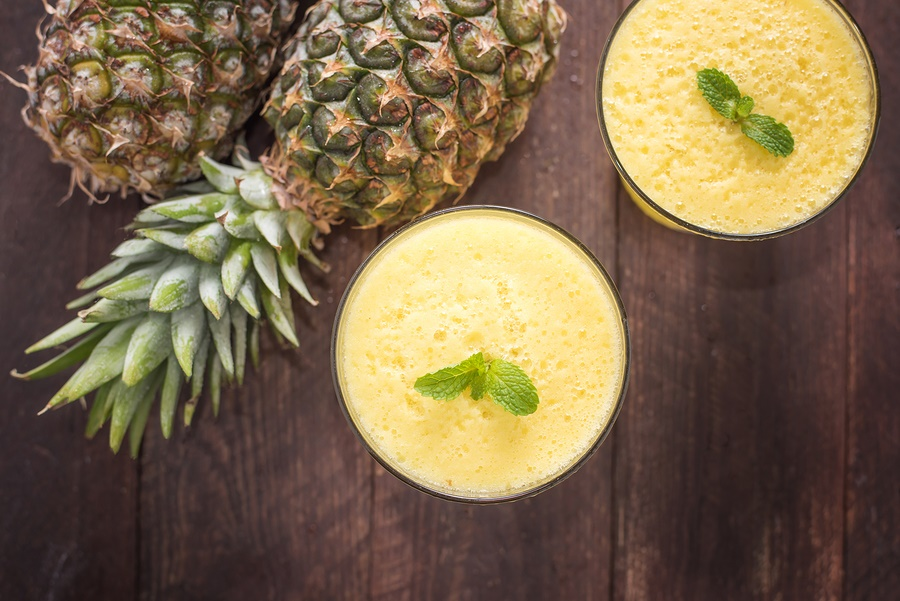 Virgin Pina Colada Smoothie Recipe (dairy-free, vegan, optionally paleo)