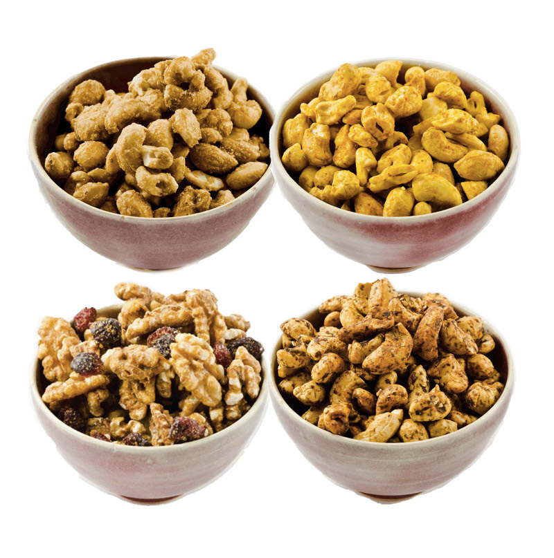 GrandyOats Roasted Nuts - Organic roasted nuts available in all sorts of fun flavors!