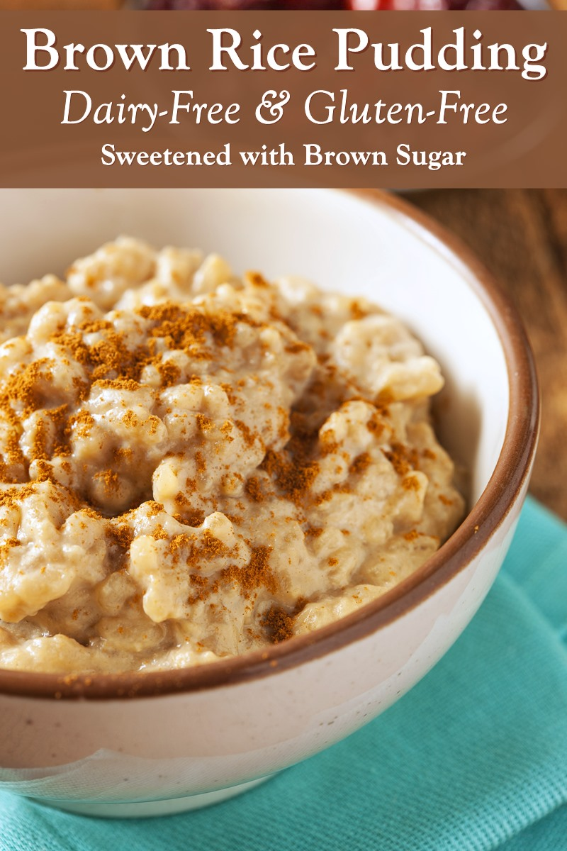 Dairy-Free Brown Rice Pudding Recipe