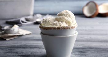 Dairy-Free Coconut Ice Cream Recipe - A Classic Thai Version (No Ice Cream Maker needed!)